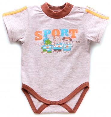 Valeri-Tex. Бодик-футболка для мальчика. Артикул: 1861-55-232-004-1