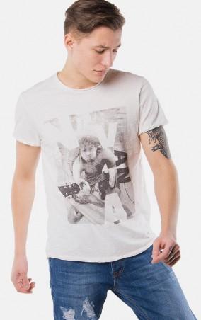 MR520 Men: Футболка с принтом MR 125 1115 0316 Milky White - главное фото