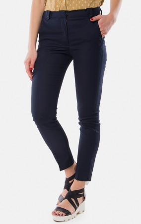 MR520 Women: Зауженные брюки MR 203 2113 0216 Dark Blue - главное фото
