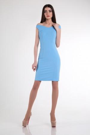 Cocoon. Платье. Артикул: Emma-blue
