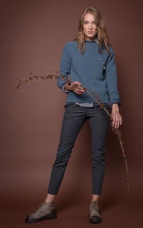 MR520 Women: Укороченные брюки MR 203 2208 0916 Green - главное фото