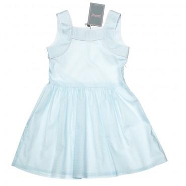 Kids Couture: Платье 15-317 в голубой горох 61007719 - главное фото