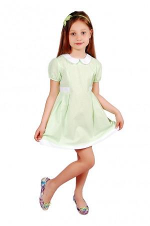 Kids Couture: Платье 15-316 в салатовую точку 61036707 - главное фото