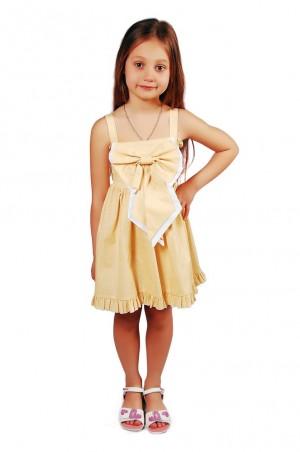 Kids Couture: Платье 15-305 в желтый горох 31008723 - главное фото