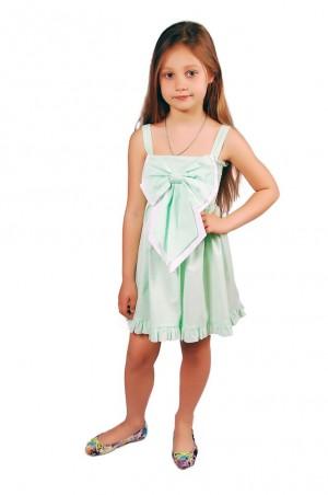 Kids Couture: Платье 15-305 в салатовую точку 31013725 - главное фото