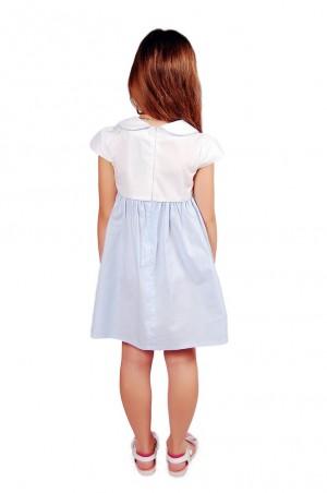 Kids Couture: Платье 2015-4 в голубой горох 61007416 - главное фото