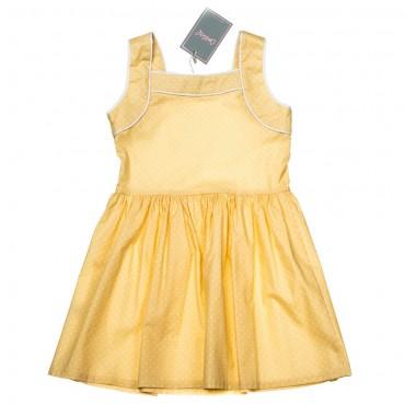 Kids Couture: Платье 15-317 в желтый горох 61036718 - главное фото