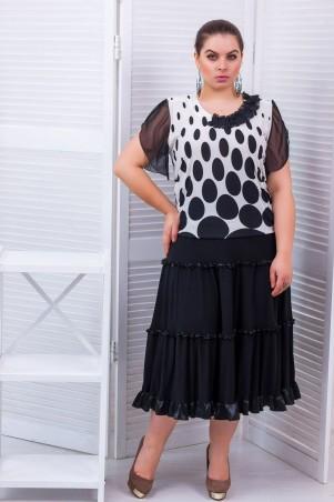 Tatiana. Трехъярусная юбка с рюшами. Артикул: АЛИНА