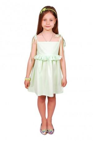 Kids Couture: Платье 15-304 салатовый горох 31013722 - главное фото