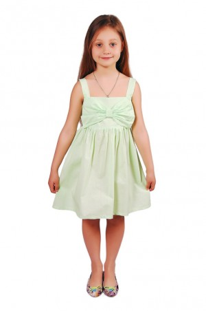 Kids Couture: Платье 15-306 в салатовый горох 61013718 - главное фото