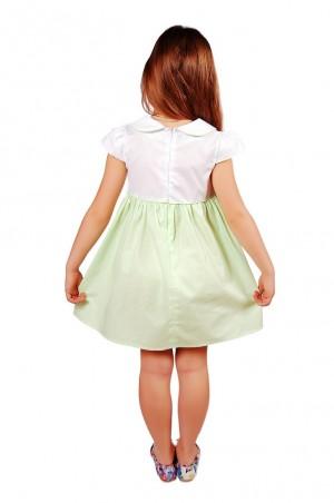 Kids Couture: Платье 2015-4 в салатовый горох 61013418 - главное фото