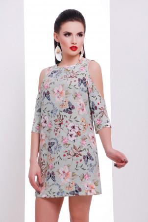 TessDress. Платье с вырезами на рукавах «Астина». Артикул: 1471