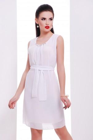 "TessDress. Шифоновое платье ""Муза"" white. Артикул: 1275"