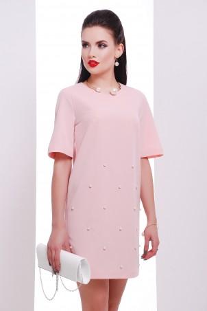 """TessDress. Нарядное женское платье с бусинами """"Азалия"""". Артикул: 1261"""