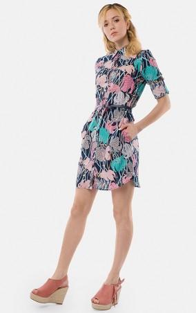 MR520 Women. Платье - рубашка. Артикул: MR 229 2365 0417 DARK BLUE