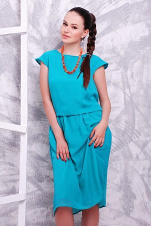 MarSe. Платье. Артикул: 1601 лазурь