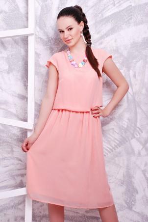 MarSe. Платье. Артикул: 1601 персик