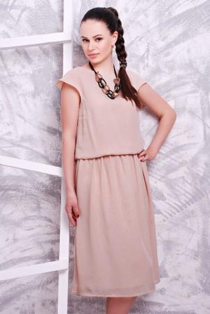 MarSe: Платье 1601 бежевый - главное фото