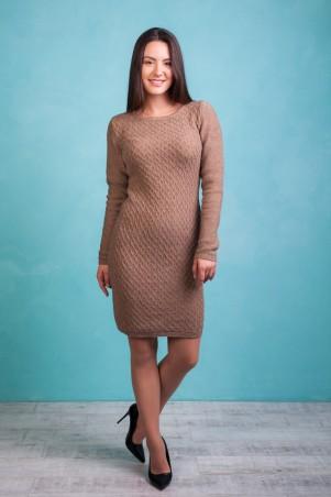 Bakhur. Платье с узором в ромбы. Артикул: 3126