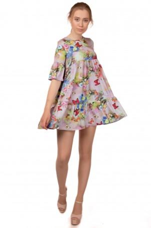 Alpama. Платье розовое. Артикул: SO-13217-PNK