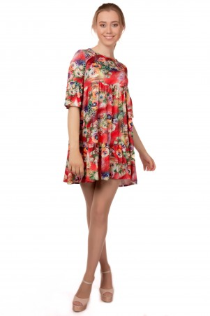Alpama. Платье красное. Артикул: SO-13217-RED