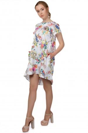 Alpama. Платье попугаи. Артикул: SO-13220-POP