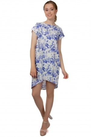 Alpama. Платье голубое. Артикул: SO-13220-CYP