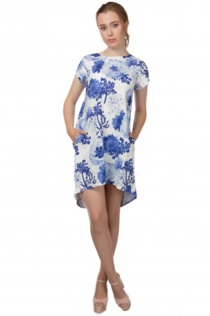 Alpama. Платье синее. Артикул: SO-13220-BLU