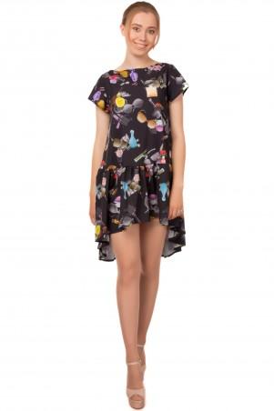Alpama. Платье черное. Артикул: SO-13213-BLK