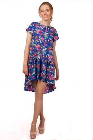 Alpama. Платье электрик. Артикул: SO-13213-ELB