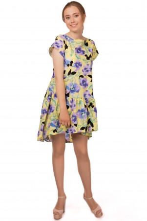 Alpama. Платье желтое. Артикул: SO-13213-YLW