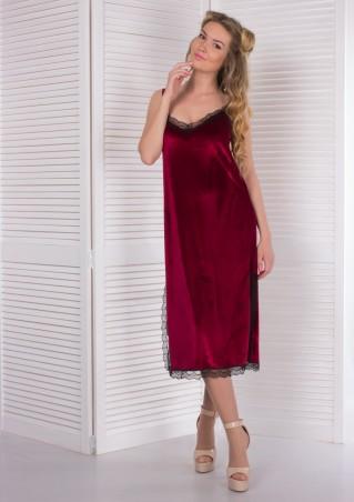 Alpama. Платье бордо. Артикул: SO-13225-BOR