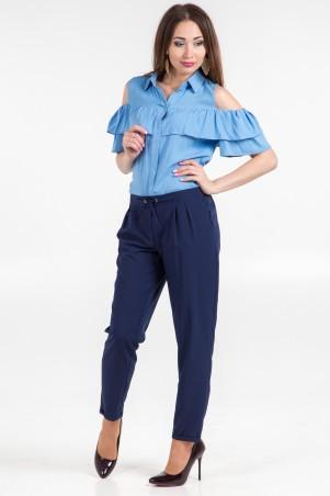 WearMe. Брюки синие со шнурком Софт 1w/17/75. Артикул: 4080