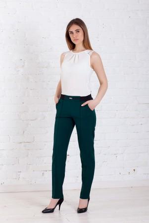 WearMe. Брюки женские зелёные на резинке 1w/17/62. Артикул: 3932