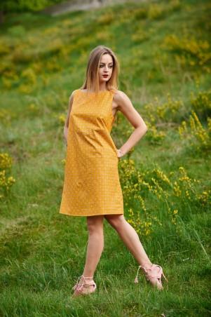 Ляпота. Платье желтое. Артикул: 1066