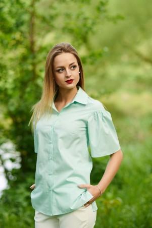 Ляпота. Блуза мятная. Артикул: 1062