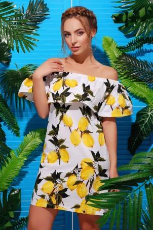 MarSe. Платье. Артикул: 1733 лимон