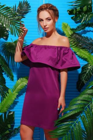 MarSe. Платье. Артикул: 1735 фиолетовый