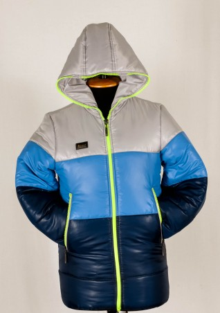 Leader Class Plus. Куртка Радуга (мальчик, зима). Артикул: 1550