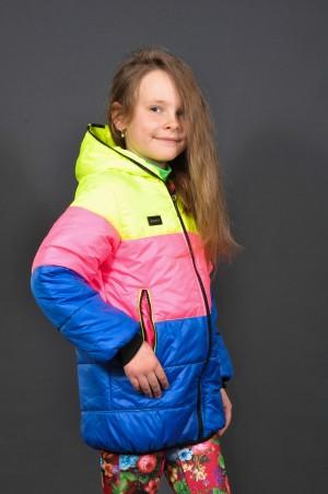 Leader Class Plus. Куртка Радуга (девочка, весна). Артикул: 1551