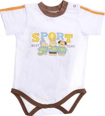 Valeri-Tex: Бодик-футболка для мальчика-1 1861-55-232-002 - главное фото