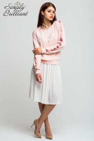 Simply brilliant: Гипюровая юбка длиной ниже колена SB01U007 - главное фото