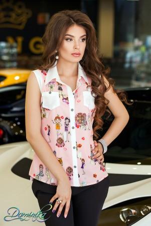Daminika: Рубашка без рукавов Rossi  - главное фото