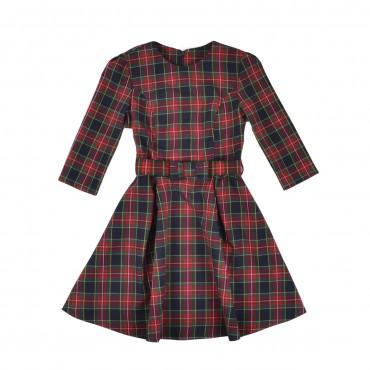 Timbo. Платье Jasmine пояс ткань д.р.. Артикул: P030135