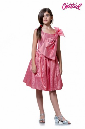 Kids Couture. Платье красные полоски. Артикул: 1290