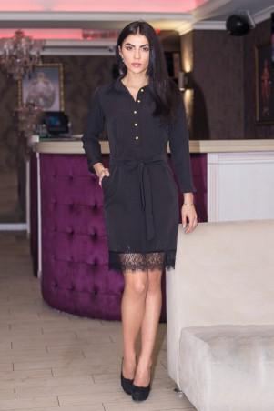 """Sauliza. Платье """"Катя"""" черный. Артикул: 7104"""