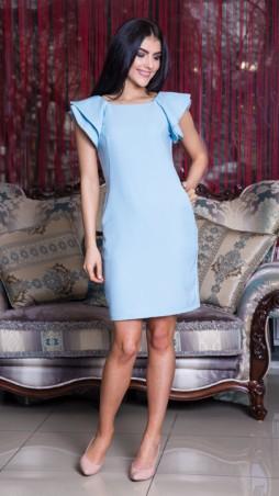 Sauliza. Платье голубое. Артикул: 2416-2