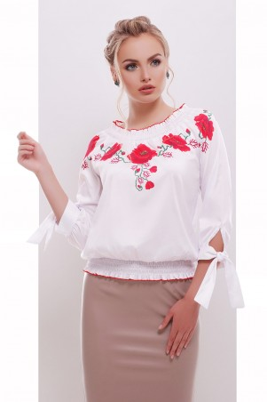 Glem: Блуза Маки  Иванка д/р - главное фото