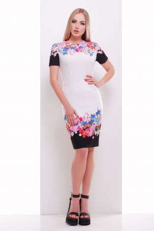 Glem: Платье Цветочный букет  Лана-1 к/р - главное фото