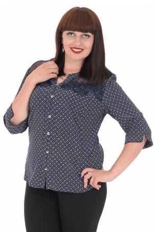 Alenka Plus: Блуза 1536-14 - главное фото